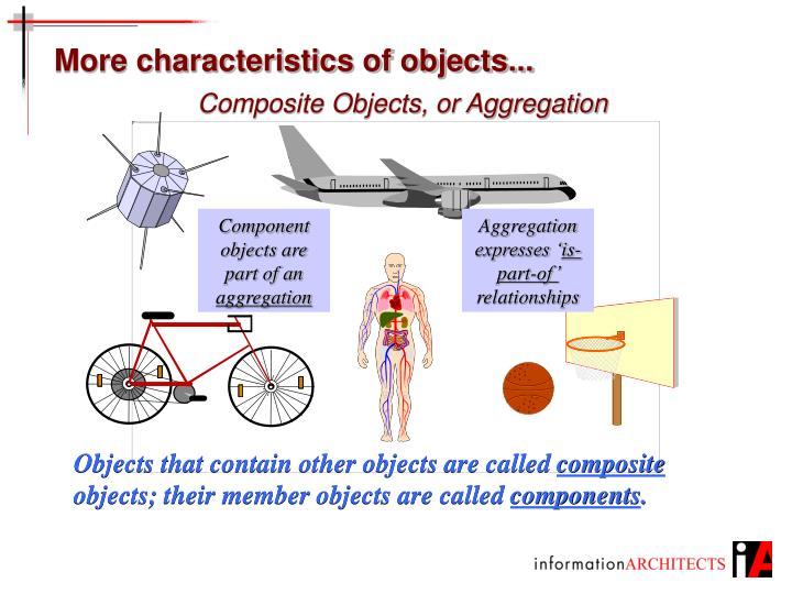 More characteristics of objects...