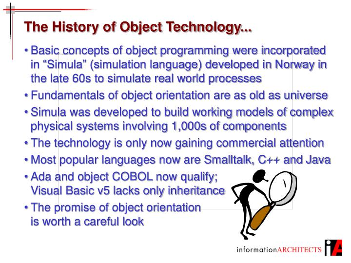The History of Object Technology...