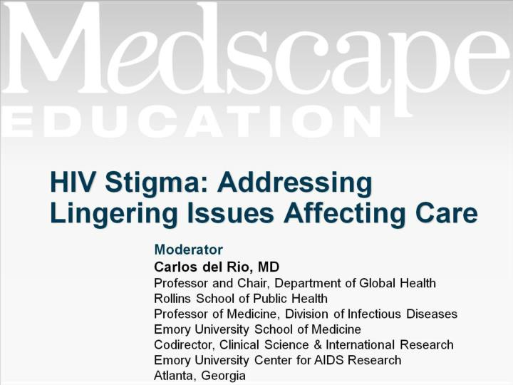 Hiv stigma addressing lingering issues affecting care
