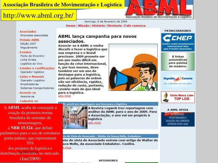 Associação Brasileira de Movimentação e Logística