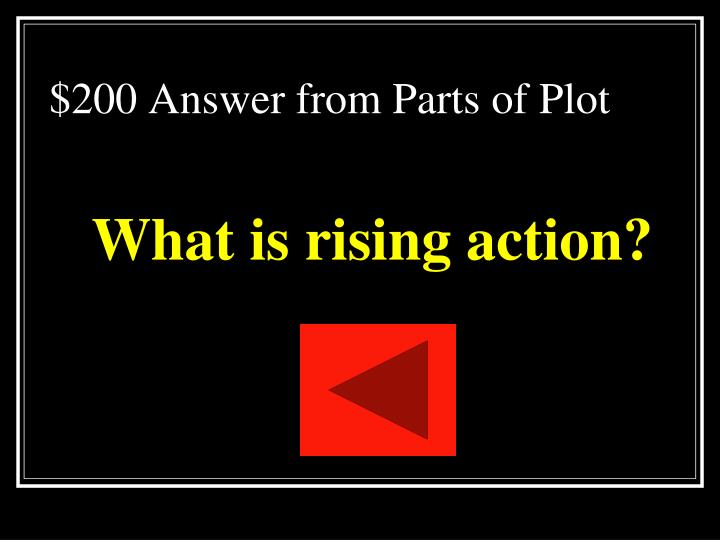 $200 Answer from Parts of Plot