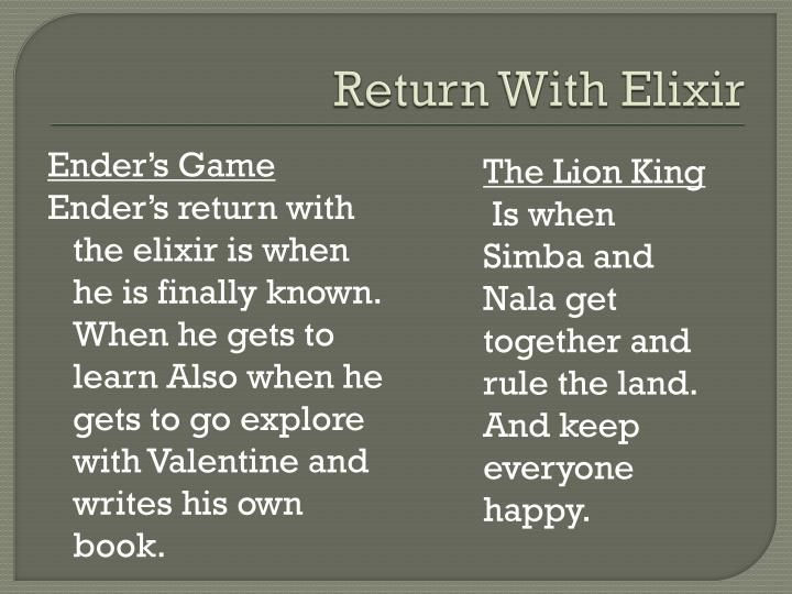 Return With Elixir