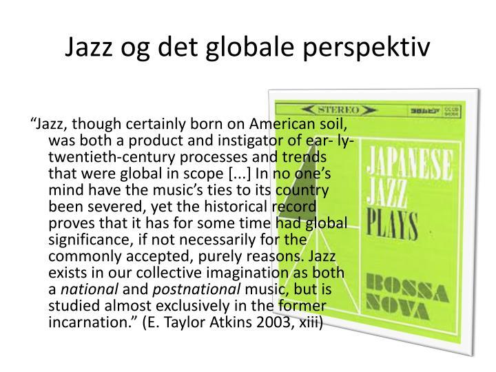 Jazz og det globale perspektiv