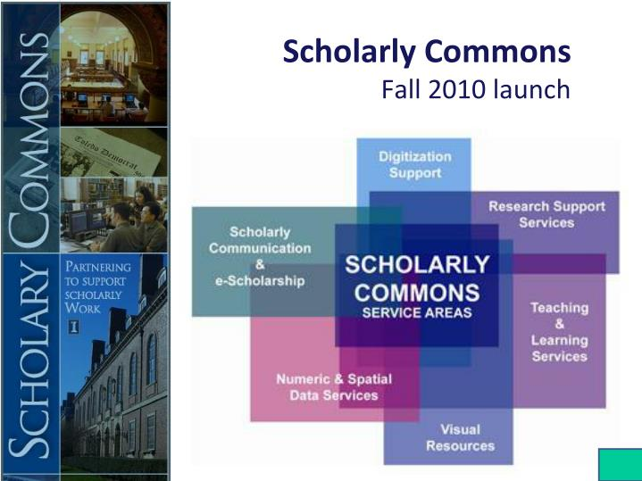 Scholarly Commons