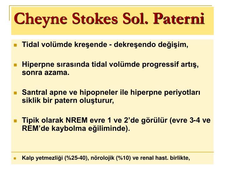 Cheyne Stokes Sol. Paterni