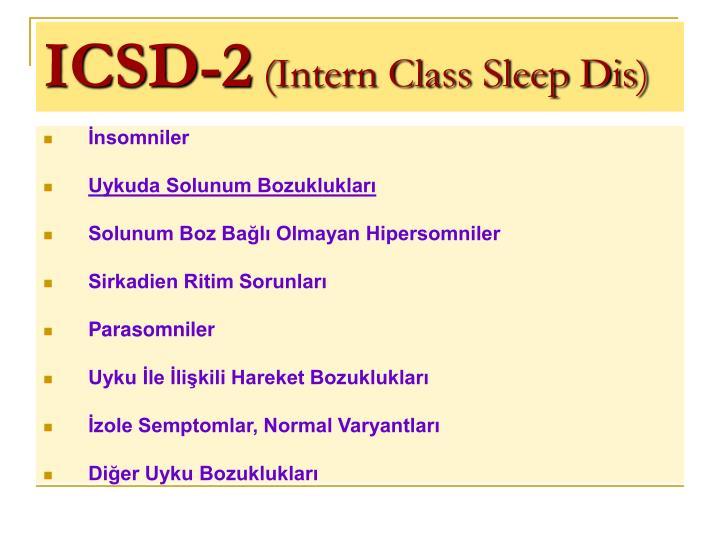 ICSD-2