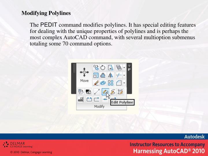Modifying Polylines