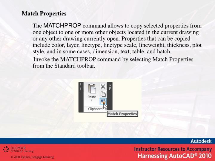 Match Properties