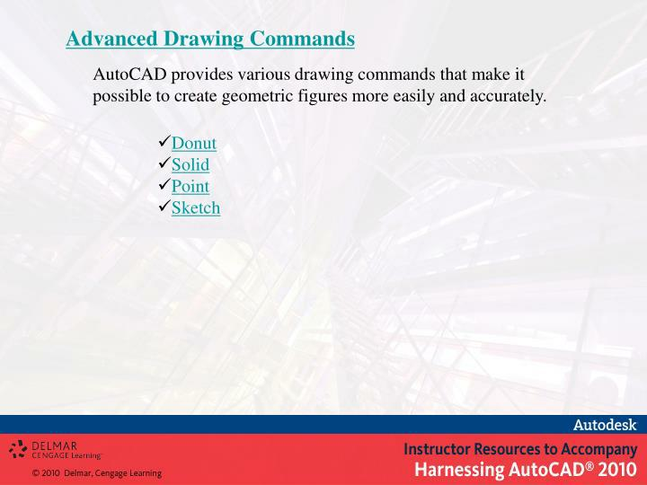 Advanced Drawing Commands