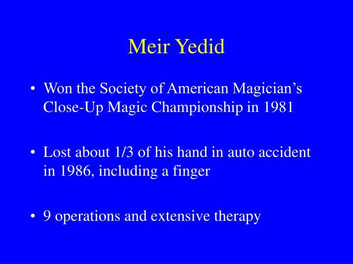 Meir Yedid