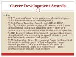 career development awards1