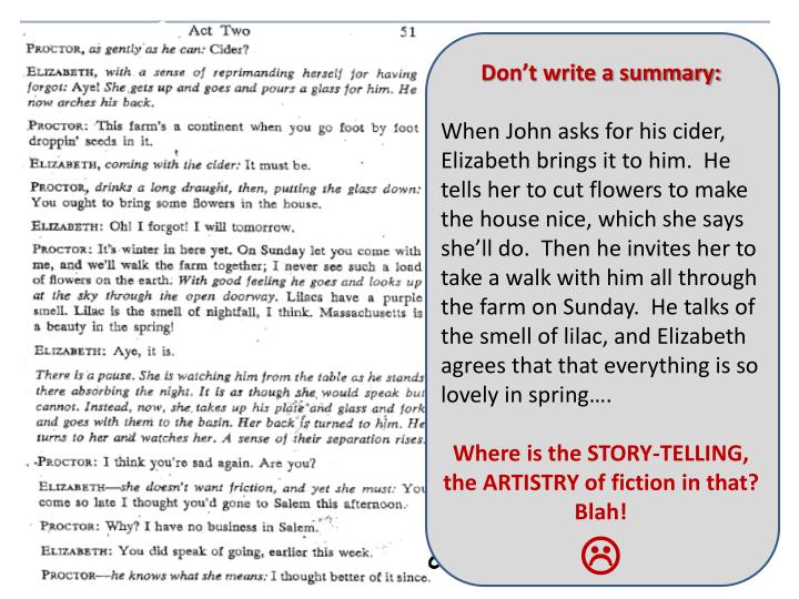 Don't write a summary: