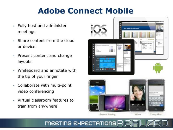 Adobe Connect Mobile