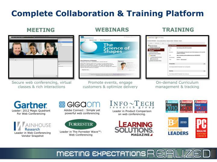 Complete Collaboration & Training Platform