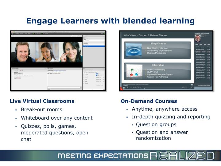 Engage Learners with blended learning