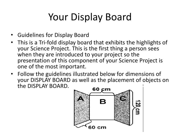 Your Display Board