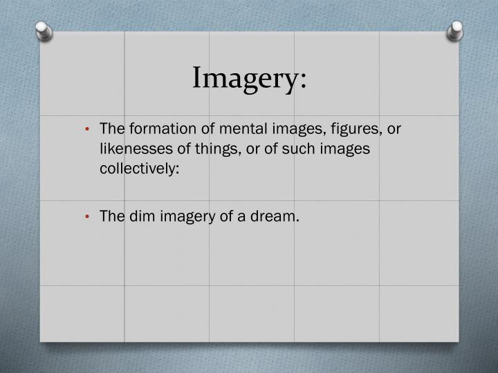 Imagery: