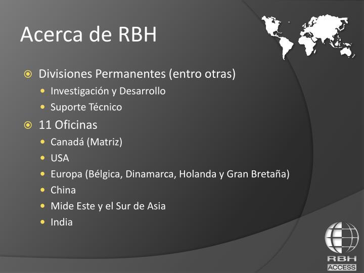 Divisiones Permanentes (entro otras)
