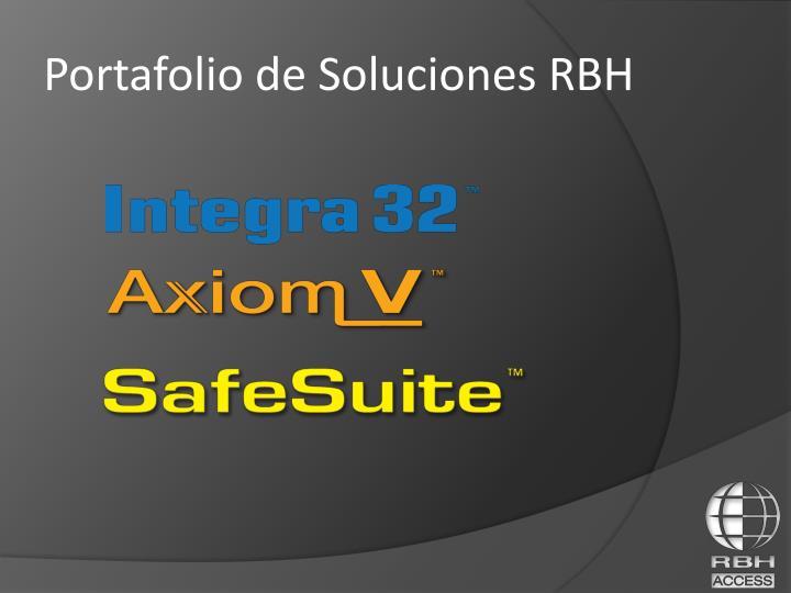Portafolio de Soluciones RBH