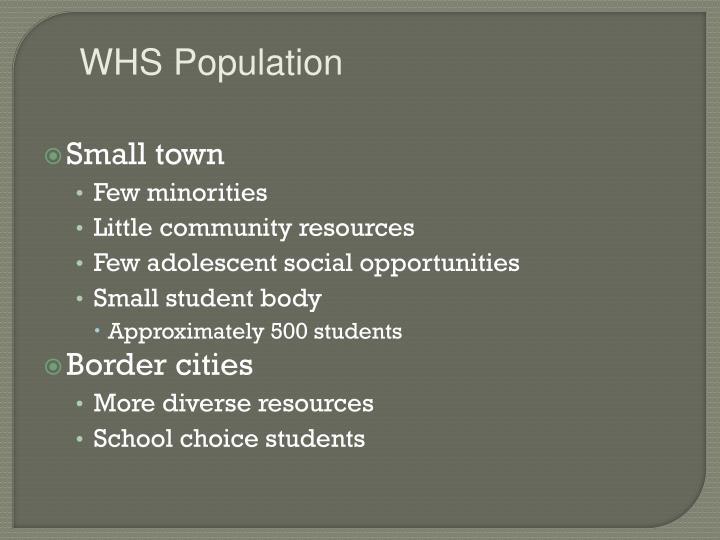 WHS Population