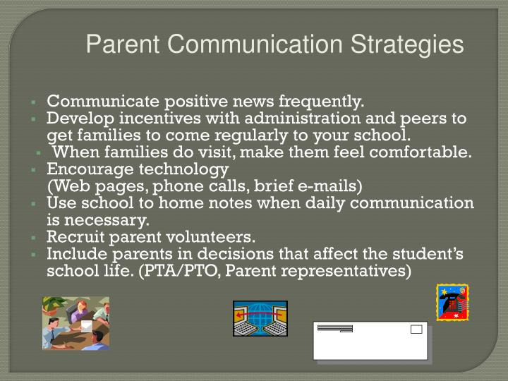 Parent Communication Strategies