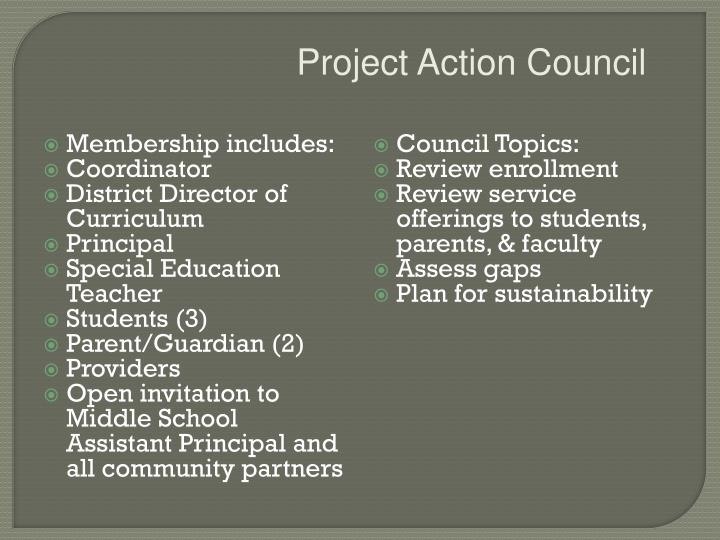 Project Action Council