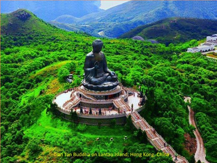Tian Tan Buddha on Lantau Island, Hong Kong, China