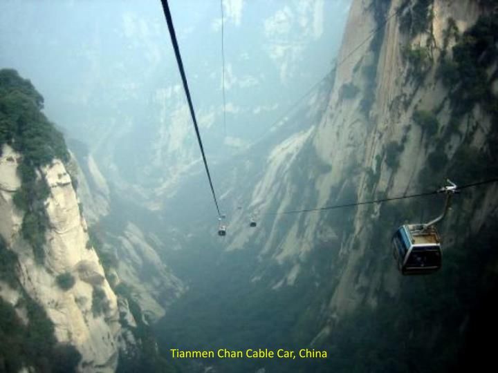 Tianmen Chan Cable Car, China