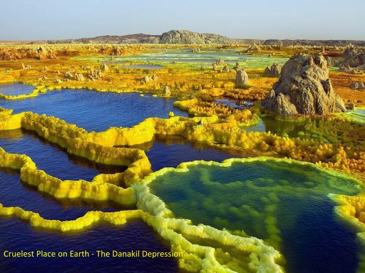 Cruelest Place on Earth - The Danakil Depression