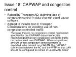 issue 18 capwap and congestion control