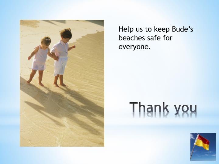Help us to keep