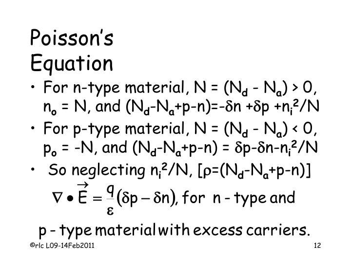 Poisson's