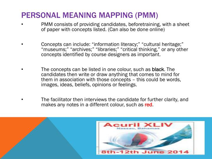 Personal meaning mapping (