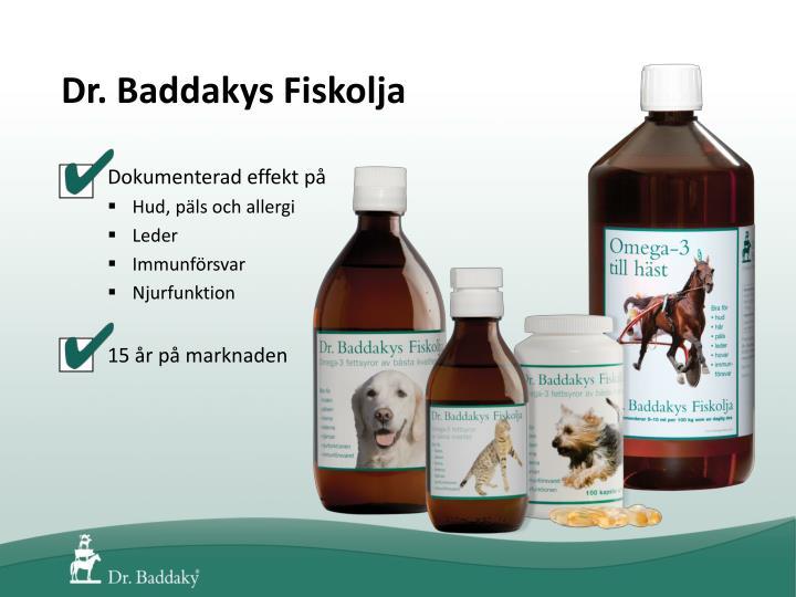 Dr. Baddakys Fiskolja