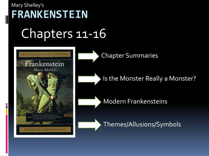 the importance of families in mary shelleys frankenstein