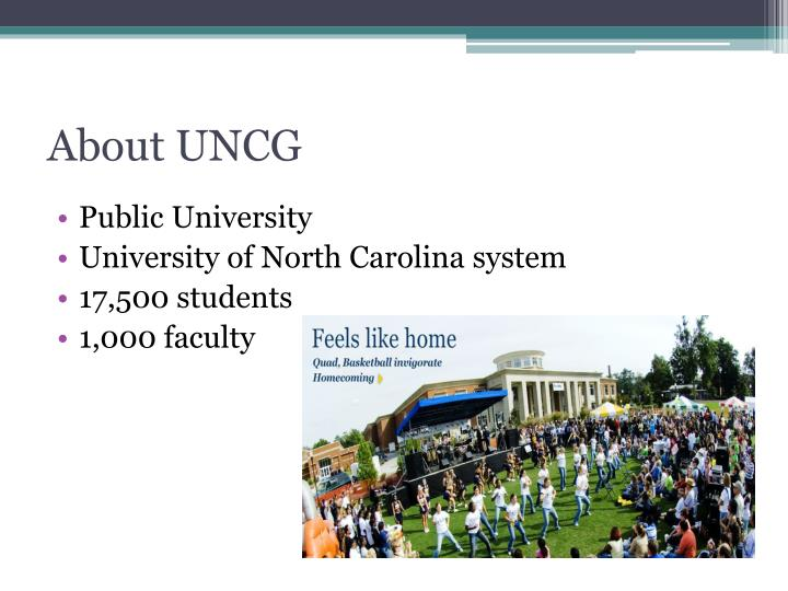 About UNCG