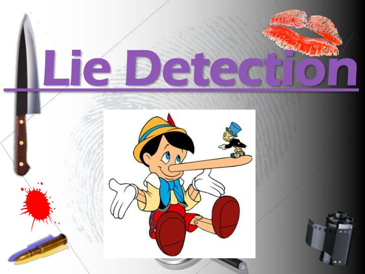 Lie detection