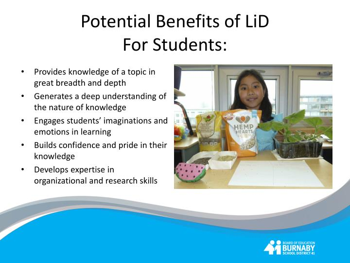 Potential Benefits of