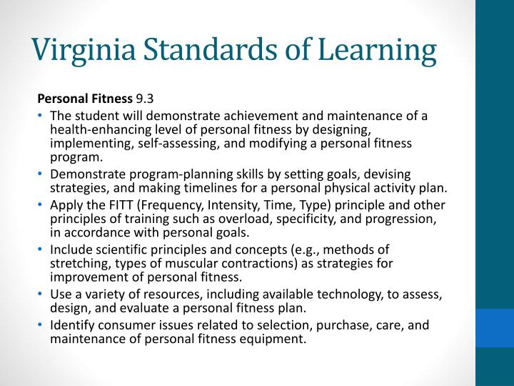 Virginia Standards of Learning