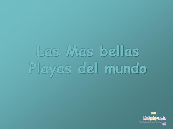 Las Mas bellas