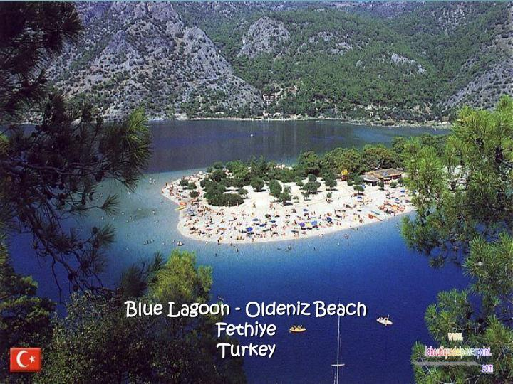 Blue Lagoon - Oldeniz Beach