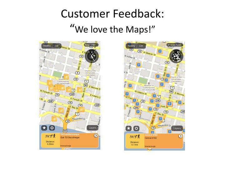 Customer Feedback: