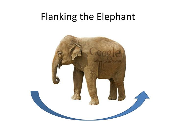 Flanking the Elephant