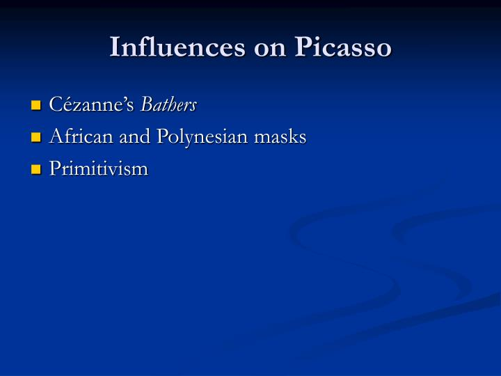 Influences on Picasso