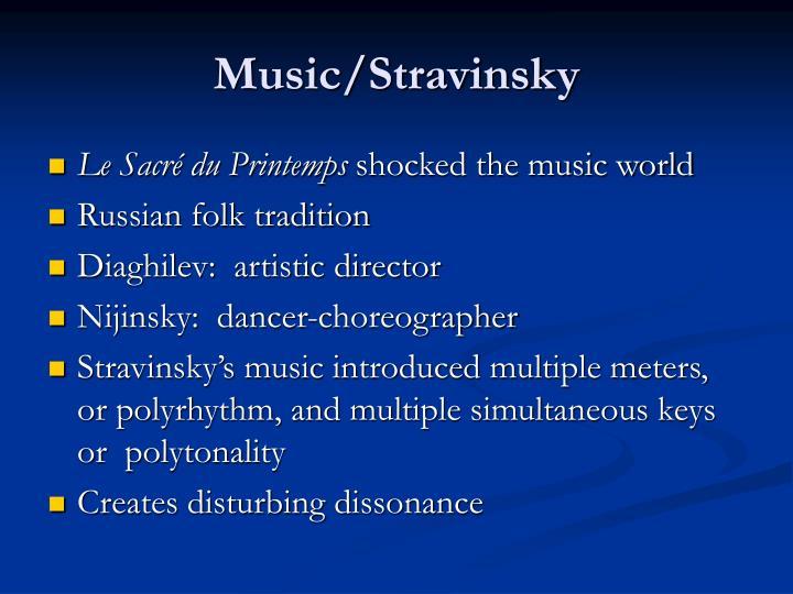 Music/Stravinsky