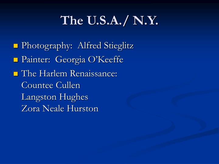 The U.S.A./ N.Y.