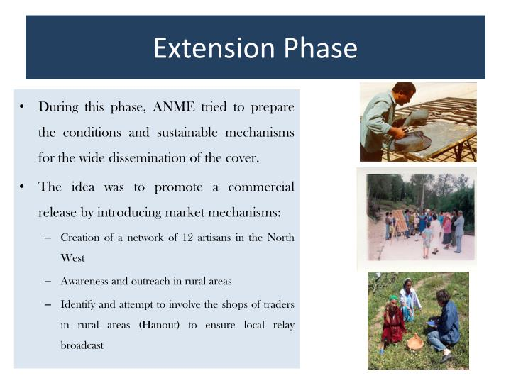 Extension Phase