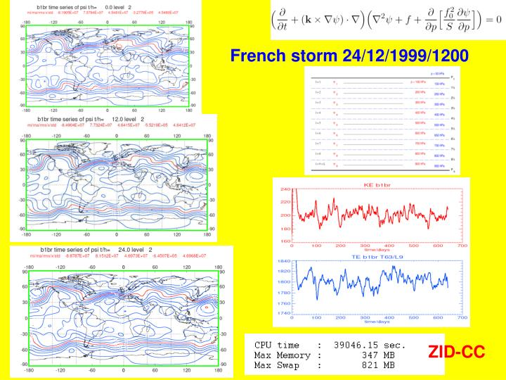 French storm 24/12/1999/1200