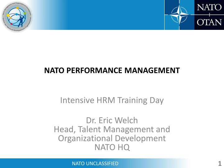 Nato performance management
