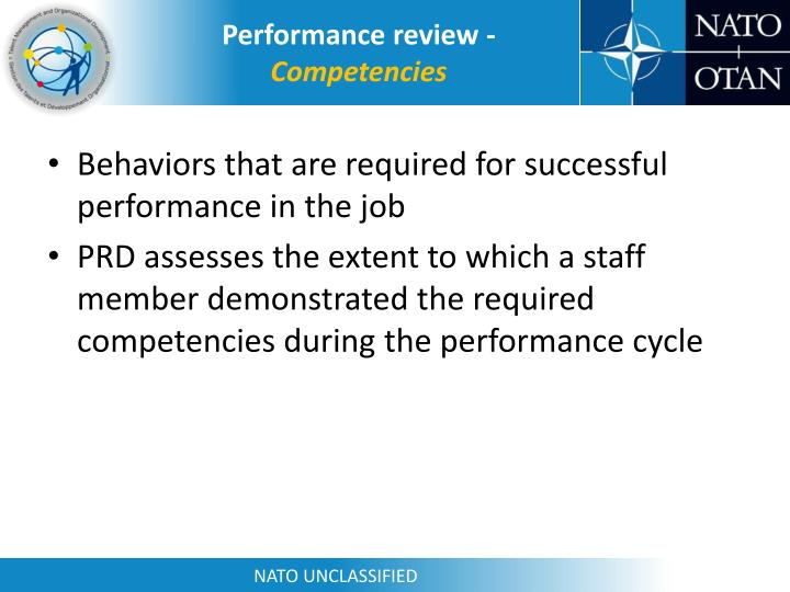 Performance review -